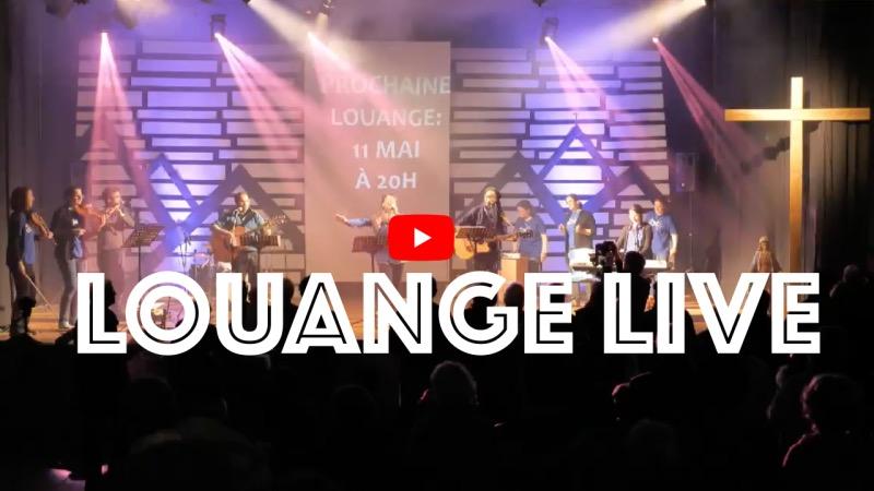 concert louange live 13 avril 2019